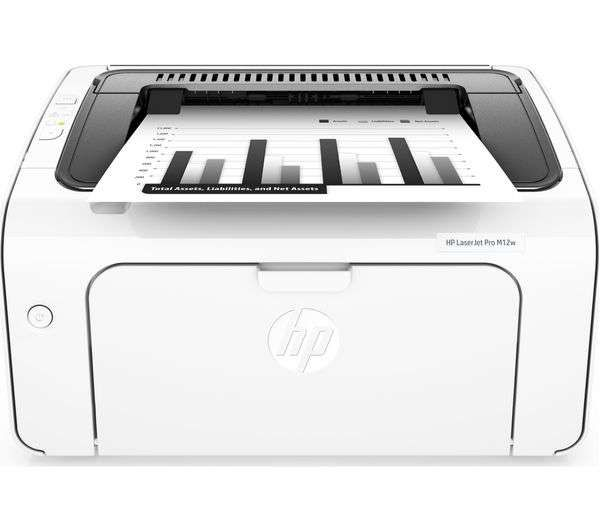 HP LaserJet M12w wifi printer