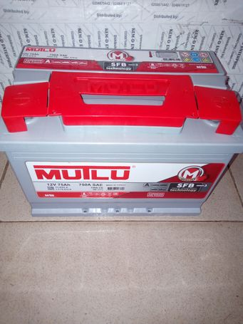 15 Plates Mutlu Car Batteries from Turkey- Free delivery- KemD Battery