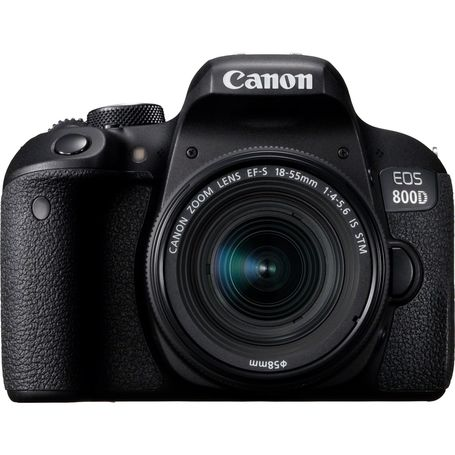Canon EOS 800D with EFS 18-55mm IS STM Lens