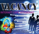 INTERNET CAFE JOB VACANCY - SERIOUS PEOPLE ONLY