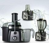 4-in-1 Juice Extractor & Blender - 5 Litre Grey