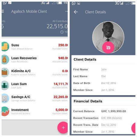 Micro Finance / SUSU Mobile App