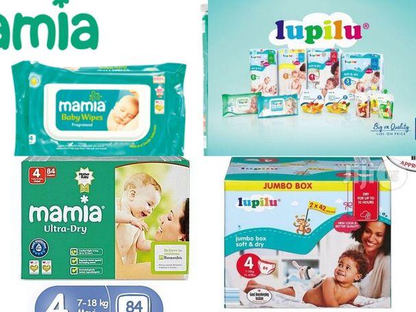 Mamia, Lupilu Diapers & Wipes  (Wholesale & Retial)