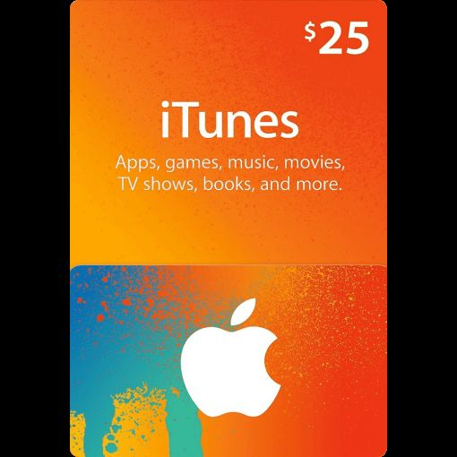 25$ iTunes gift card