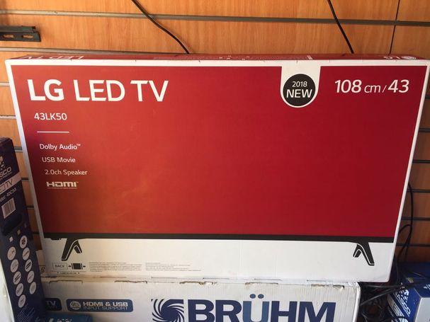 LG 43 Inch Digital Satellite LED Tv
