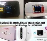 Unlock your Mifi /WiFi, Modems and Routers