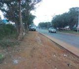 One Plot Direct Roadside Land in Prampram