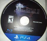 Final fantasy XV Ps4 game CD