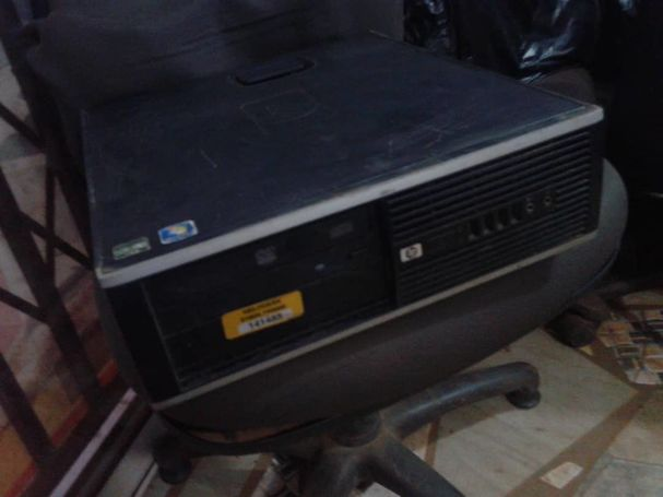HP COMPAQ DESKTOP COMPUTER SYSTEM UNIT PC