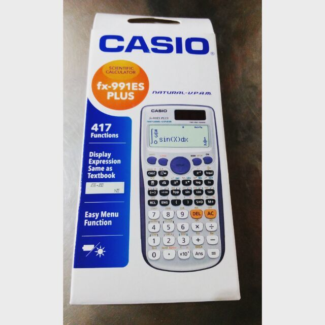 CASIO FX-991 ES PLUS SCIENTIFIC CALCULATOR (VERSION E)