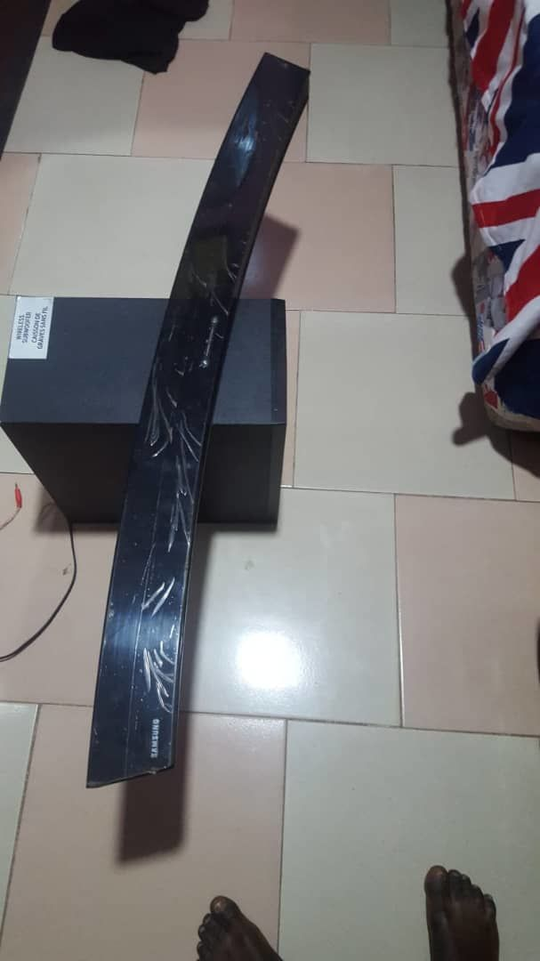 Samsung curved sound bar