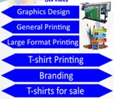 Graphics Design Services and Printing Services