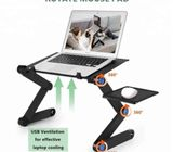 LAPTOP ADJUSTABLE STAND WITH COOLING FANS