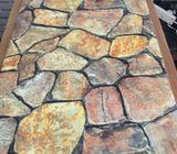 3d wallpaper bricks and Stones