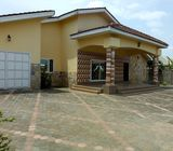 4Bedrooms House with garage For Rent at Afienya Newland