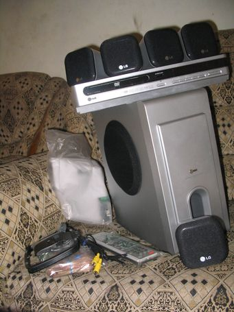 LG T6430 one box, one cinema DVD Theatre