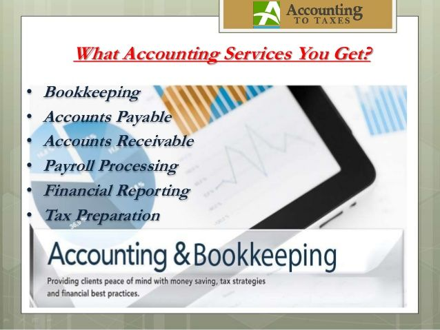 Accounting, Payroll,Taxation, etc.