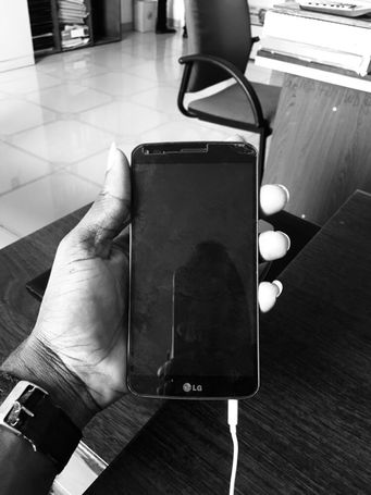 SLIGHTLY USED LG G-FLEX
