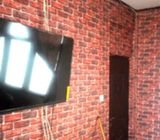 Sale and installation of 3D wall papers and panels
