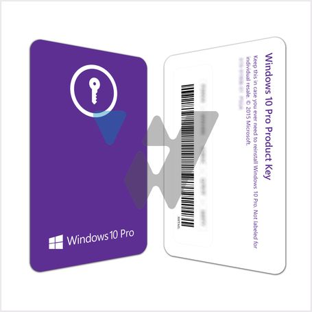 Microsoft Windows 10 Pro (1PC License)
