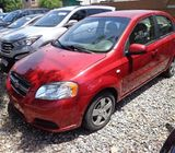 IMPORTED HOME USED CHEVROLET AVEO FOR QUICK SALES