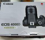 Brand new canon 4000D
