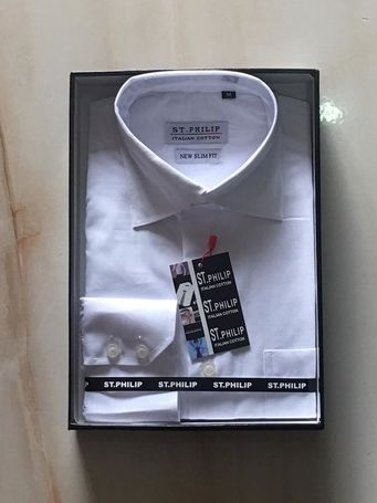 St Philip Italian cotton shirts long and short sleeve