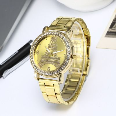 Watches Gold Plated Belt