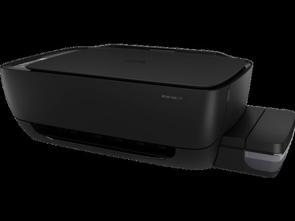 HP Ink Tank 315 with CISS - Colour Printer, Scanner, Copier - Black