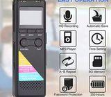 8gb Professional Digital Voice Recorder
