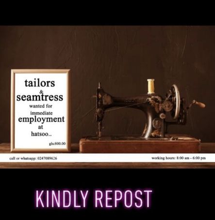 Talior's , steamtress and Beader's