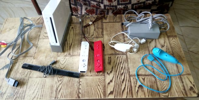 Nintendo Wii game set