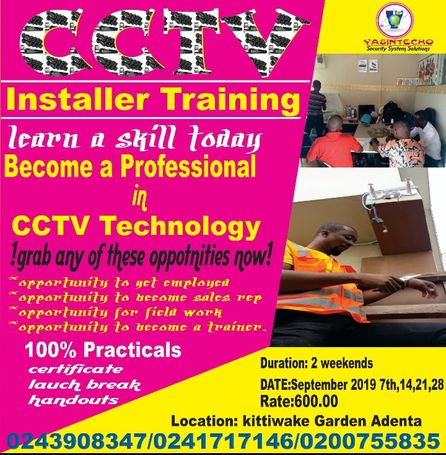 CCTV installer training