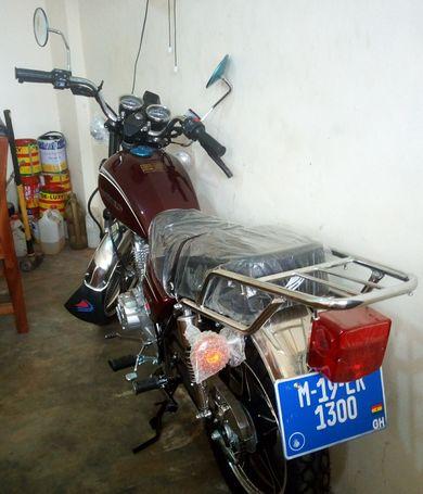 BRAND NEW,UNUSED AND REGISTERED MOTORBIKE