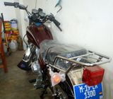 BRAND NEW,UNUSED AND REGISTERED MOTORBIKE