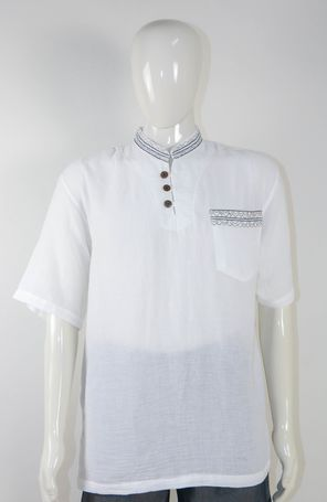 100% Cotton Light weight shirts - Made in Thailand