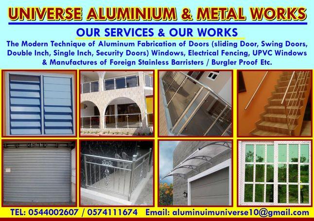 Aluminium fabricator & metal works