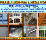 Aluminium fabricator & metal works