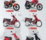 Affordable motorcycles with genuine spare parts
