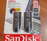 Sandisk Ultra SDCZ48032GAW46TW USB 3.0 Pen Drive / Flash Drive 32GB 2 Pack 3.0