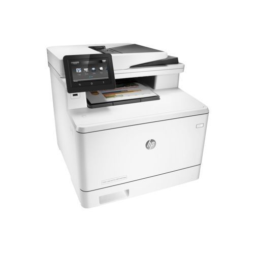Hp M477fdw Colour LaserJet Pro Multi-Function Printer - White