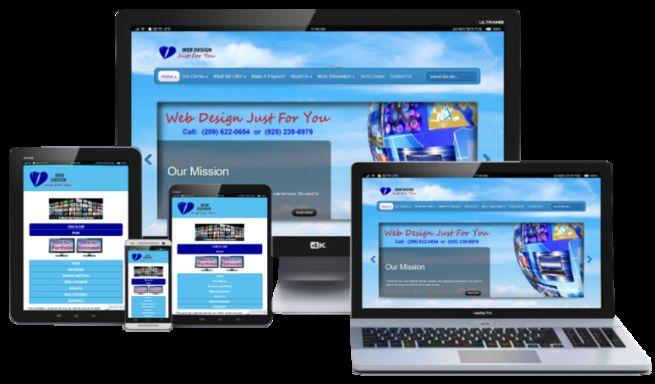 Professional website design and hosting