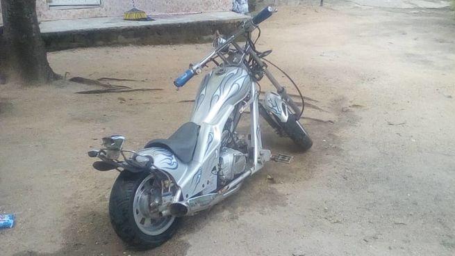 Classic custom made chopper