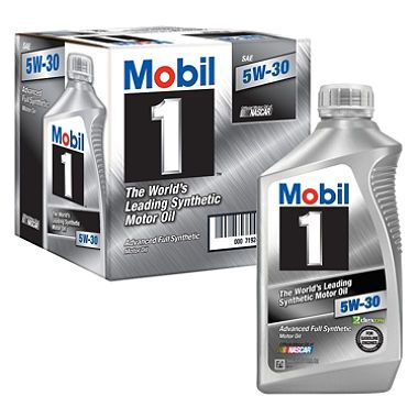 Full Synthetic Mobil 1 Motor Oil