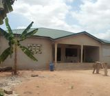 TITLED & ROOFED 4 MASTER BRM HOUSE ON 2 PLOTS AT SOWUTUOM, MAIN ROAD
