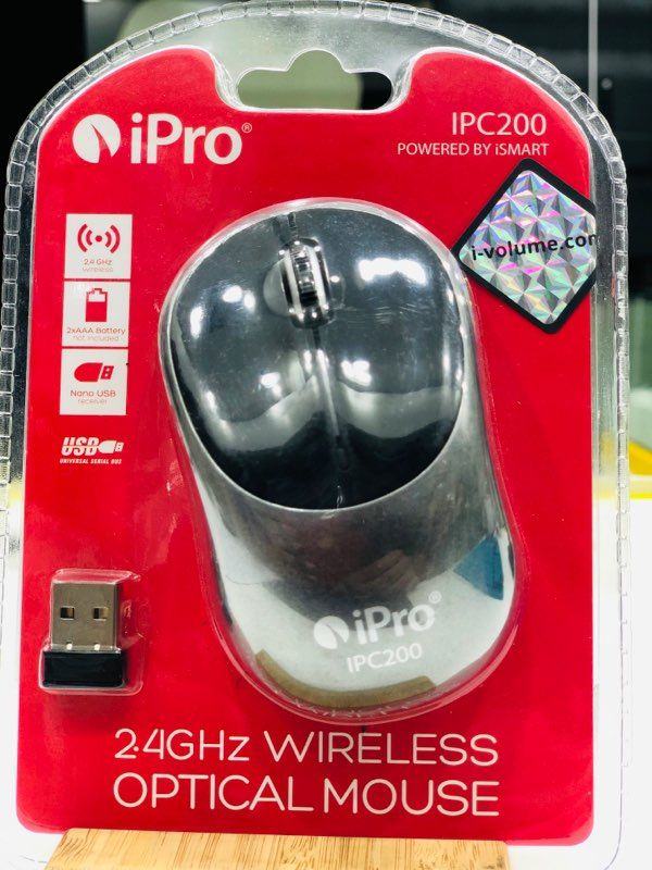 Ipro ipc200 optical wireless mouse 2.4ghz