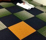 Woolen Tile Carpet