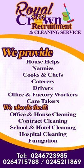 HOUSE HELPS AND NANNY SERVICE