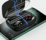 USAMS Digital Display Wireless Earphone Bt 5.0