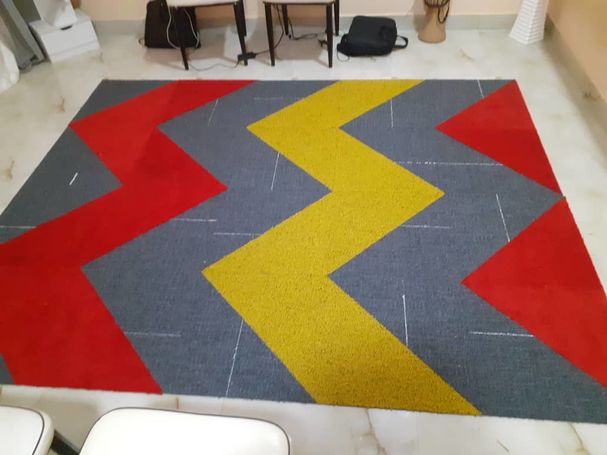 Woolen Tile Carpet